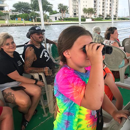 Wrightsville Beach Harbor Island Boat Tour