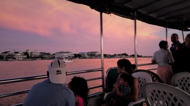 Valentine's day special on boat