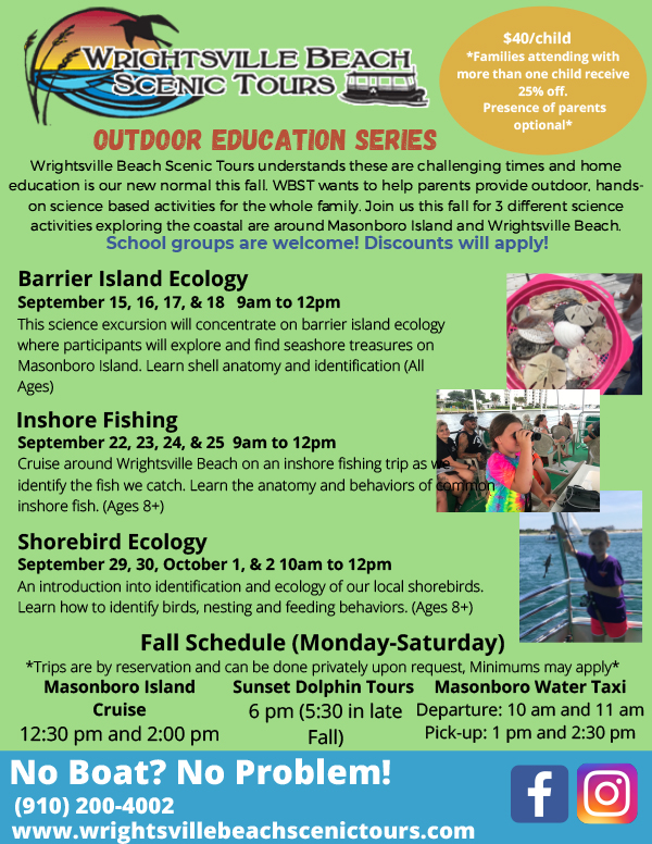 Wrightsville Beach Fall Tours
